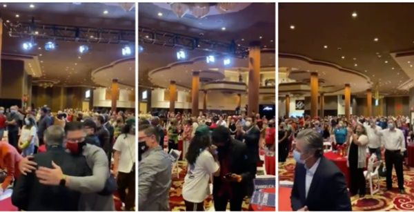 Christians Hold Church In Casinos As Restrictions On Worship Are Tighter Than Those On Gambling